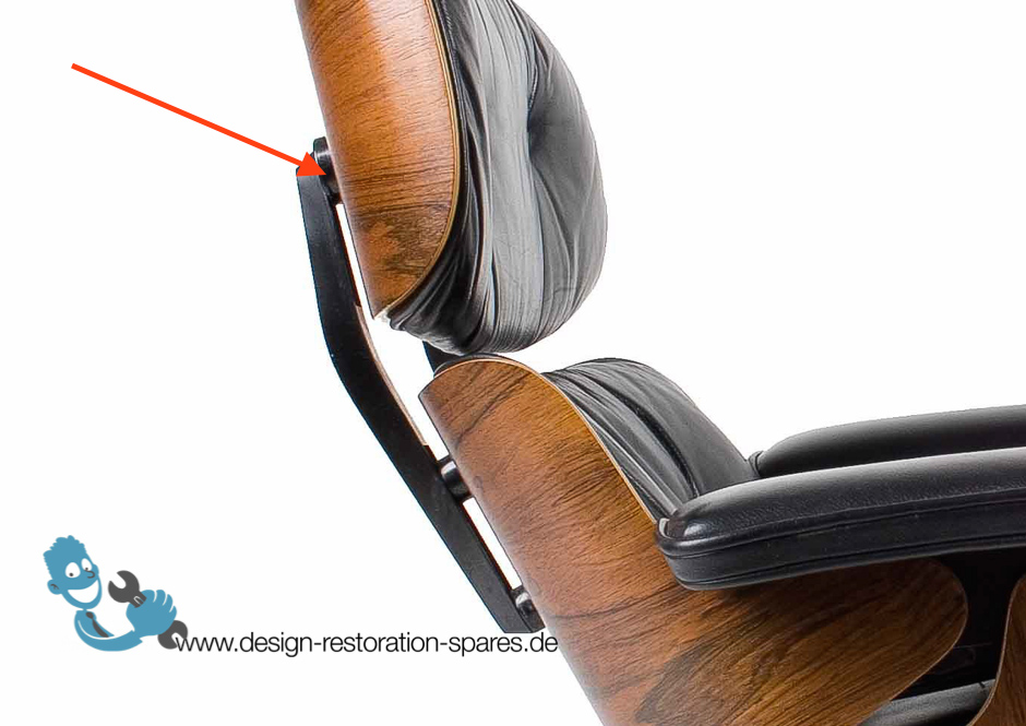 Eames Lounge Chair Back Support Spacer Large