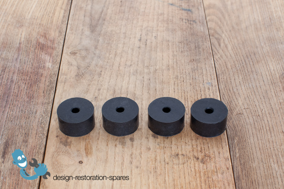 Set Of 4 Eames Lounge Chair Back Support Spacer Small Ebay