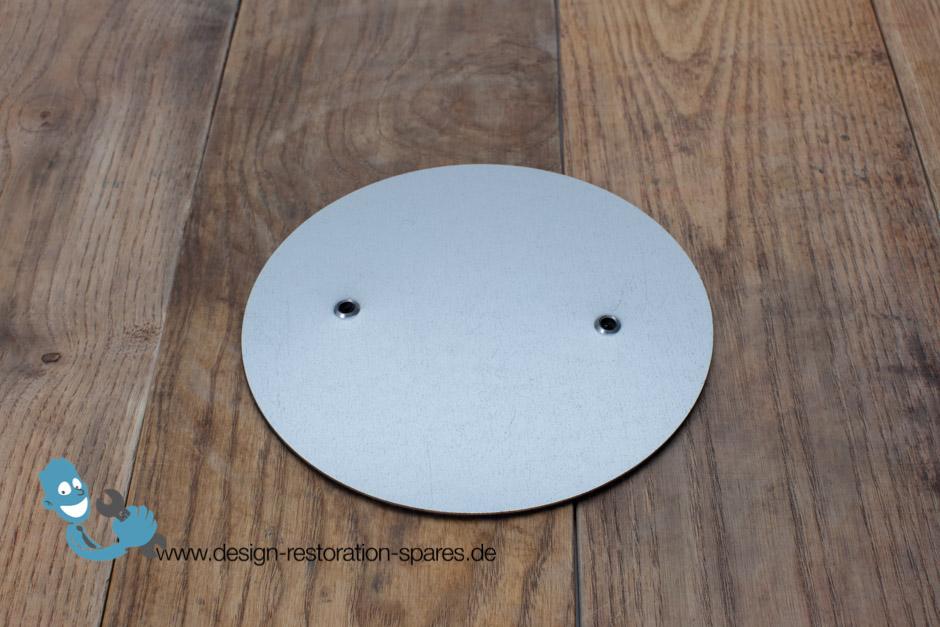 kaiser idell 6631 cover plate for bottom of foot. Black Bedroom Furniture Sets. Home Design Ideas