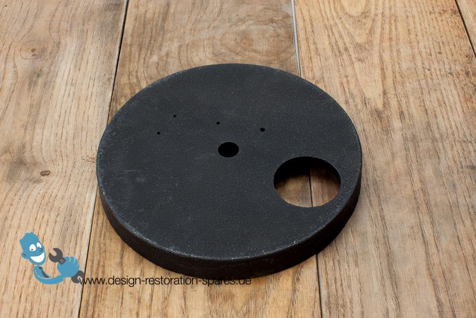 kaiser idell 6631 iron ballast in bottom of foot. Black Bedroom Furniture Sets. Home Design Ideas