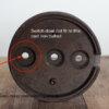 kaiser-idell-6631-old-style-cast-iron-ballast-not fit