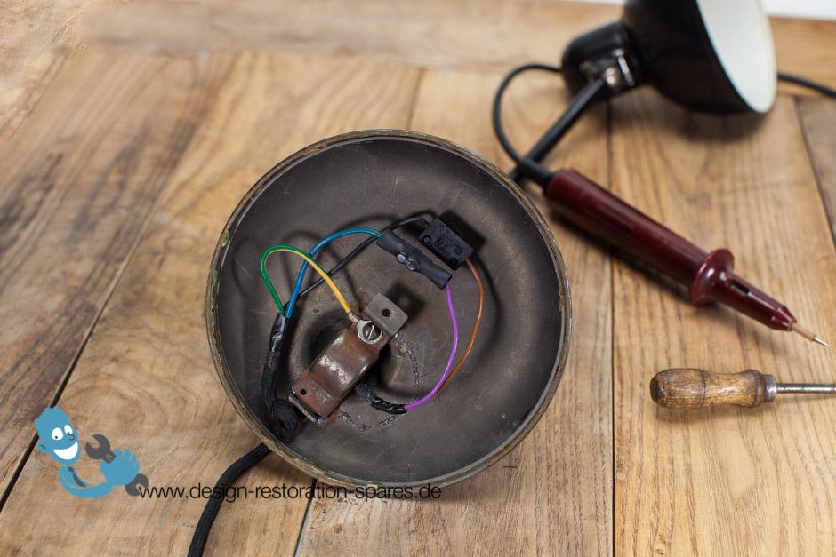 rewiring set kaiser idell 6551 6551 super 6722 6556. Black Bedroom Furniture Sets. Home Design Ideas