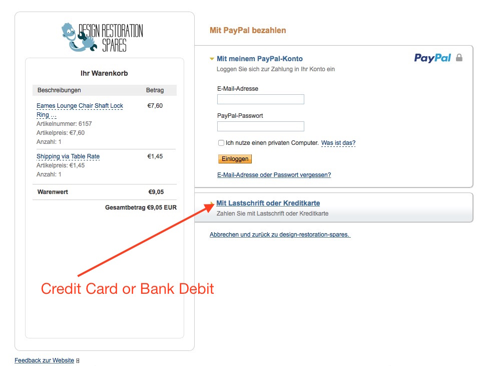 How to pay with PayPal if you don't have a PayPal account