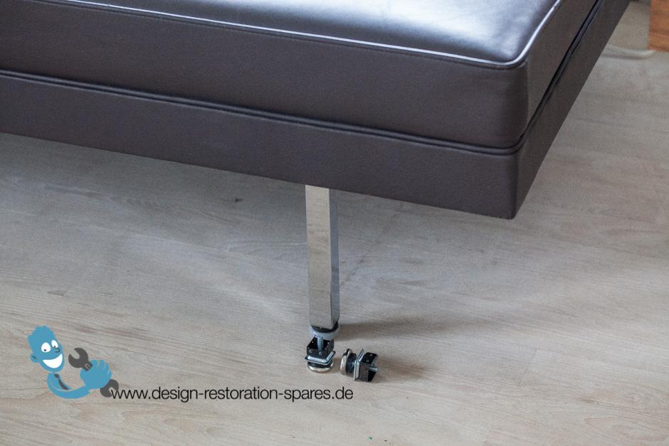 Wonderful Glides For Herman Miller George Nelson Modular Sofa  ...