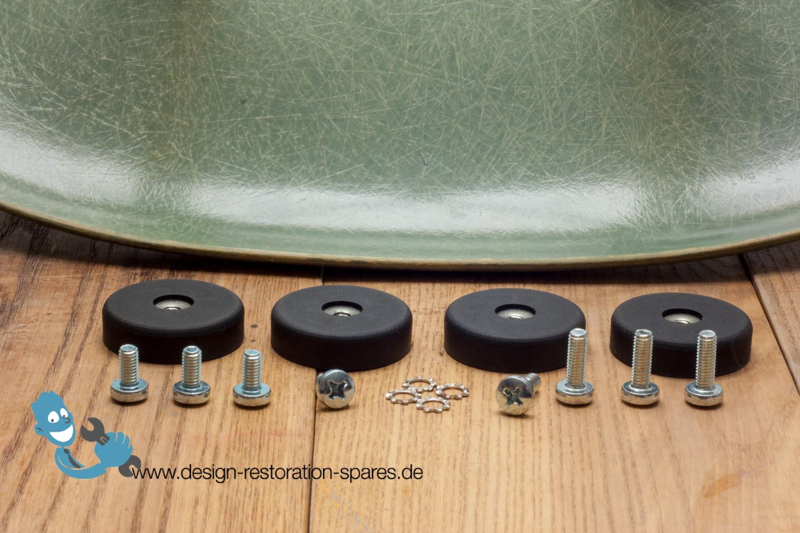 Replacement shock mounts for eames fiberglas chairs - Eames chair shock mounts ...