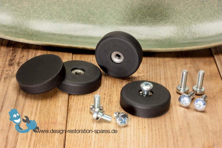 Replacement neoprene shock mounts for eames herman miller fiberglas chairs ar - Eames chair shock mounts ...
