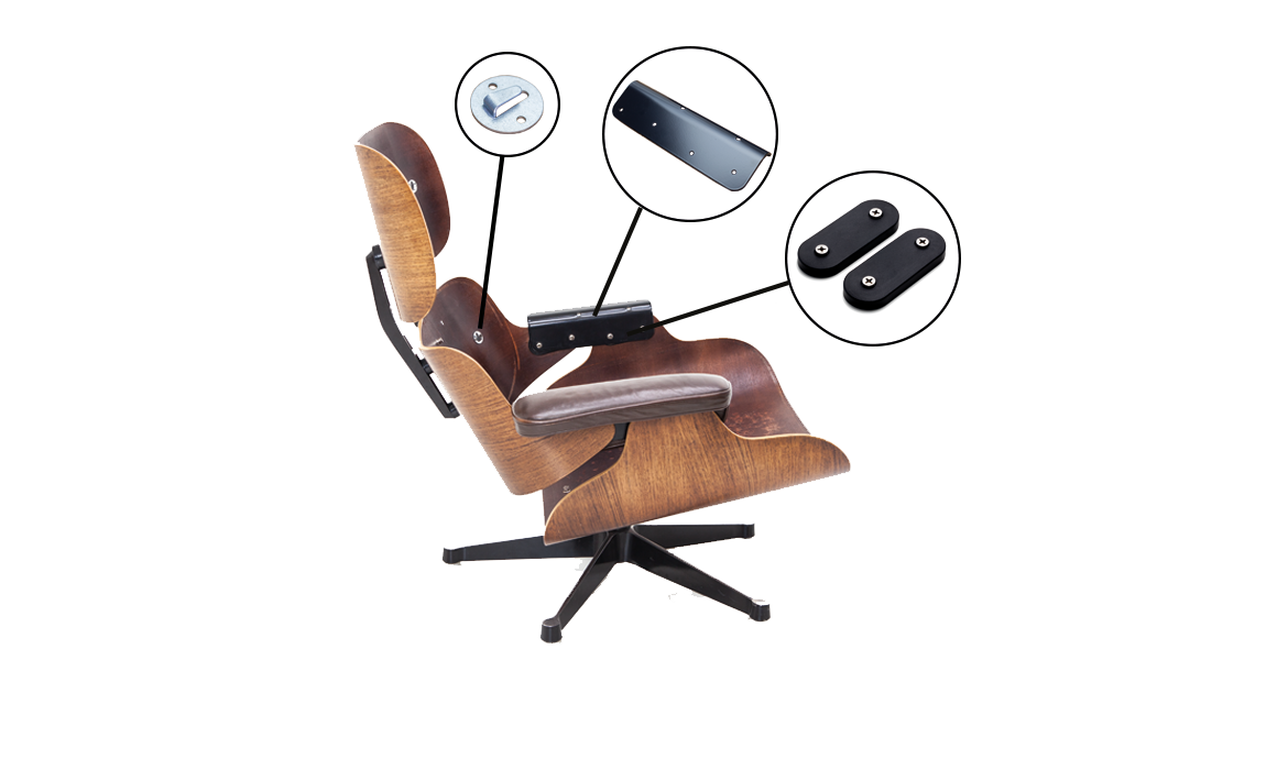 Eames Lounge Stoel.Online Shop For Replacement Parts For Your Design Classic