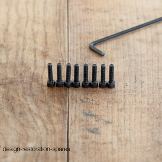 Replacement Poul Kjaerholm PK22 Screws Set