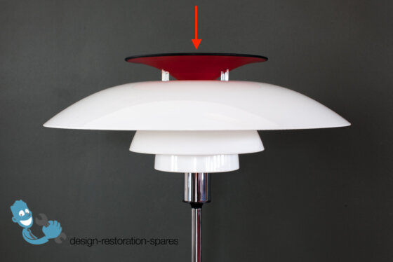 Lamp Top | Louis Poulsen | Poul Henningsen | PH80 Floor Lamp