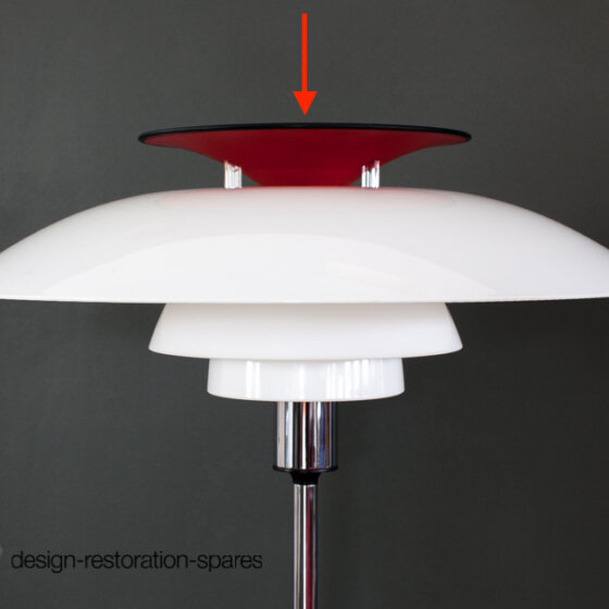 Lamp Top | Louis Poulsen | Poul Henningsen | PH80 Floor Lamp