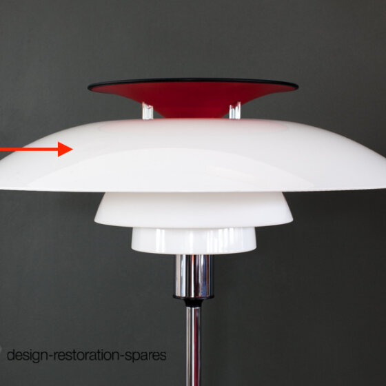 Upper Lamp Shade | Louis Poulsen | Poul Henningsen | PH80 Floor Lamp