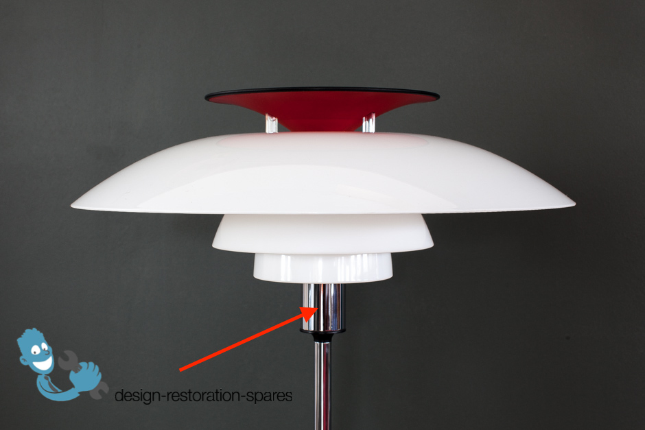 replacement bulb holder louis poulsen poul henningsen. Black Bedroom Furniture Sets. Home Design Ideas