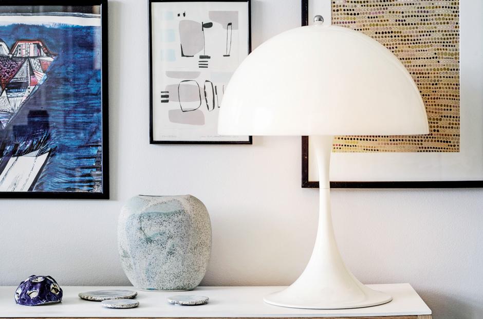 Louis Poulsen Verner Panton Panthella Table Lamp